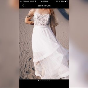 White Formal Dress